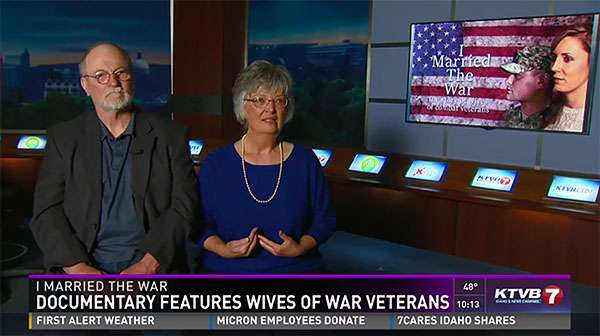 I Married the War Documentary Feature, Sevens Hero, KTVB7