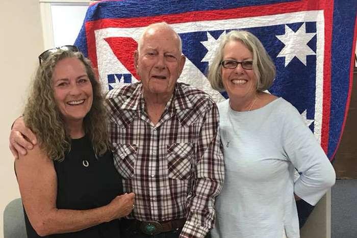 Terri Topmiller's Dad Receives Honor