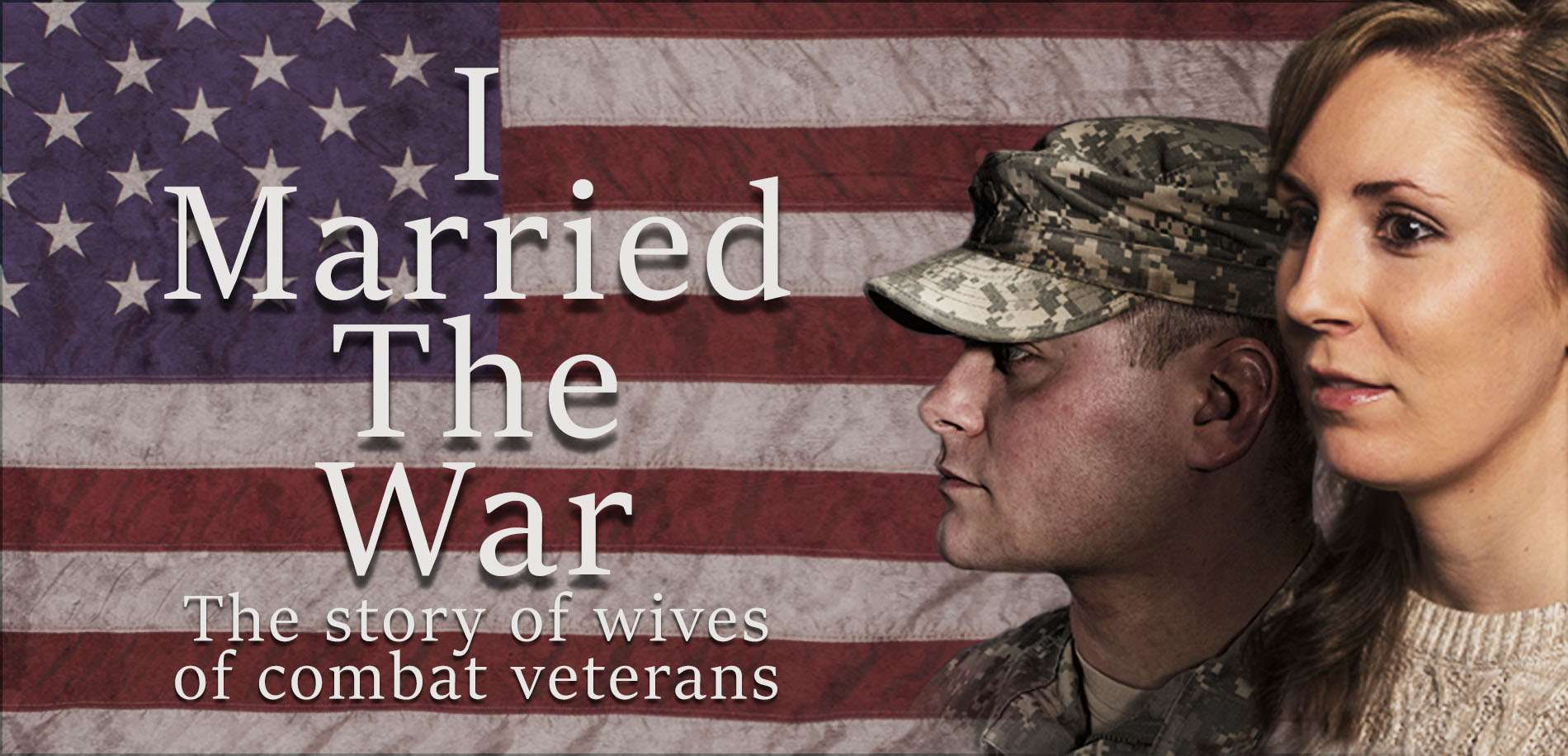 I Married The War web banner